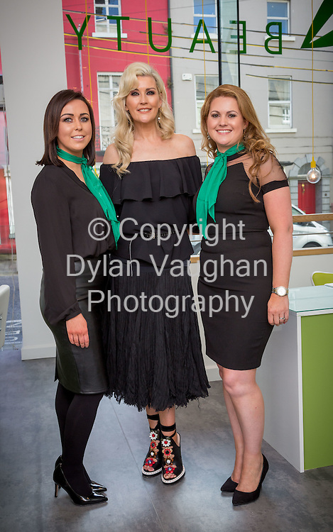 Repro Free no charge for Repro<br /> 19-5-16<br /> <br /> A brand new beauty experience has launched in Kilkenny. The city&rsquo;s four star boutique Pembroke Hotel has opened its new &lsquo;MINT at the Pembroke&rsquo; Beauty, Laser and Shop destination. Pictured at the launch are Marie Cahill, Stylist, Broadcaster and Author, Lisa Fitzpatrick and Sarah Millea, Manager of MINT at the Pembroke.<br /> <br /> <br /> Picture Dylan Vaughan.