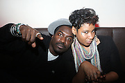 l to r: Corey Blacksmith and Jean Grae at The Brand New Heavies Live, Produced by Jill Newman Productions and held at The Highline Ballroom on October 19, 2009 in New York City