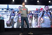 DocuSign hosts its Momentum 2016 summit at Union Square in San Francisco, California, on April 7, 2016. (Stan Olszewski/SOSKIphoto)