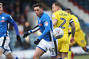 Ian Henderson during the EFL Sky Bet League 1 match between Rochdale and AFC Wimbledon at Spotland, Rochdale, England on 17 March 2018. Picture by Daniel Youngs.