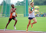 GERMISTON, SOUTH AFRICA, Saturday 25 February 2011, Rynhardt van Rensburg in the mens 800m during the Yellow Pages Interprovincial held at the Herman Immelman stadium..Photo by ImageSA/ASA.