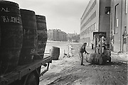 Vin- & Sprits arbetsplats på Reimersholme 1977