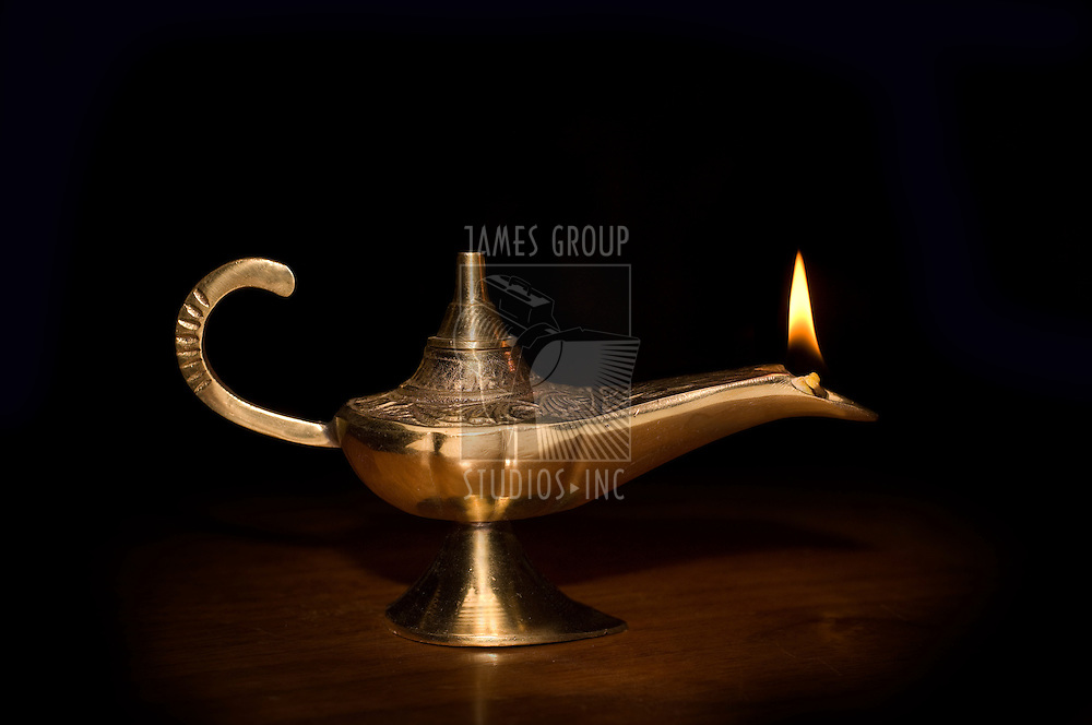 Old world oil lamp