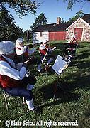 Musicians at the Daniel Boone Homestead, Berks Co., PA