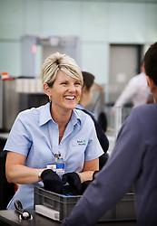 Heathrow Airport security shoot
