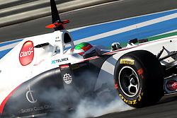 12.02.2011, Street Circuit. Jerez, ESP, Formel 1 Test 2 Valencia 2011,  im Bild Sergio Perez (MEX) Sauber F1 Team . EXPA Pictures © 2011, PhotoCredit: EXPA/ nph/   poleposition.at  //    **** only for AUT  & SLO ****
