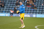 Chris Lines of Bristol Rovers during the Sky Bet League 2 match between Wycombe Wanderers and Bristol Rovers at Adams Park, High Wycombe, England on 27 February 2016. Photo by Dennis Goodwin.