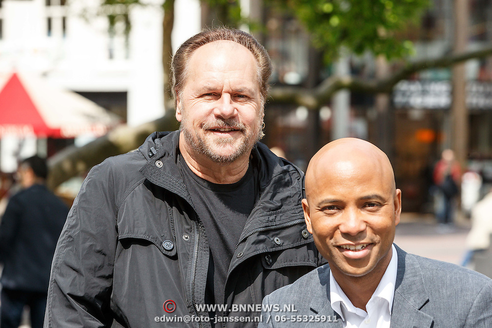 NLD/Amsterdam/20150527 - Harry Wayne Casey zanger van KC and The Sunshine Band, met Humberto Tan