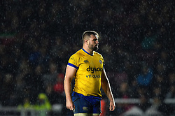 Elliott Stooke of Bath Rugby looks on during a break in play - Mandatory byline: Patrick Khachfe/JMP - 07966 386802 - 23/11/2019 - RUGBY UNION - The Twickenham Stoop - London, England - Harlequins v Bath Rugby - Heineken Champions Cup