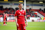 Walsall FC midfielder Liam Kinsella (15) during the EFL Sky Bet League 1 match between Walsall and Barnsley at the Banks's Stadium, Walsall, England on 23 March 2019.