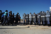 Police training as preperation for the Worldcup in South Africa