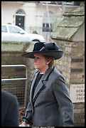 LADY ELIZABETH ANSON, Memorial service for Mark Shand.  . St. Paul's Knightsbridge. September 11 2014.