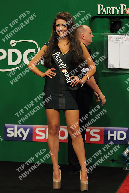 PARTY POKER.NET,PDC WORLD GRAND PRIX 2012,HAZEL O'SULLIVAN AND KELLY