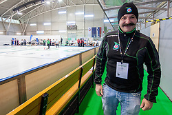 Ex president of Slovenian Curling Federation during curling match between National teams of Slovenia and Lithuania in 6th Round of European Curling Championship on April 29, 2016 in Ledena dvorana Zalog, Ljubljana, Slovenia. Photo By Urban Urbanc / Sportida