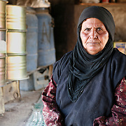 Sana lives in a Bedouin tent in the mountain, a few of the Ammarin tribe who are still working on agriculture away from Petra's tourism boom. The main problem they are facing is desertification and lack of water.