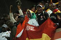Photo: Tony Oudot.<br /> Ghana v Senegal. International Friendly. 21/08/2007.<br /> Ghana fans