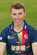Joe Weatherley of Kent  during the Kent County Cricket Club Headshots 2017 Press Day at the Spitfire Ground, Canterbury, United Kingdom on 31 March 2017. Photo by Martin Cole.