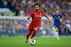 LONDON, ENGLAND - Sunday, September 22, 2019: Liverpool's Mohamed Salah during the FA Premier League match between Chelsea FC and Liverpool FC at Stamford Bridge. (Pic by David Rawcliffe/Propaganda)