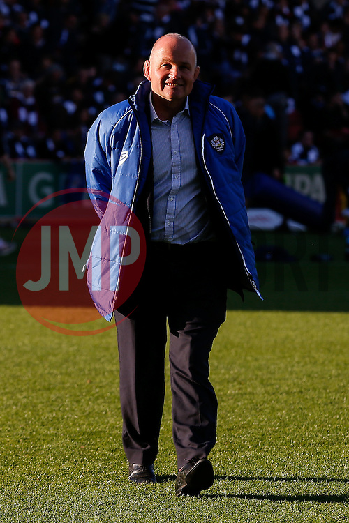 Bristol Rugby Director of Rugby Andy Robinson - Photo mandatory by-line: Rogan Thomson/JMP - 07966 386802 - 20/05/2015 - SPORT - Rugby Union - Bristol, England - Ashton Gate Stadium - Bristol Rugby v Worcester Warriors - Greene King IPA Championship Play-Off Final 1st Leg.