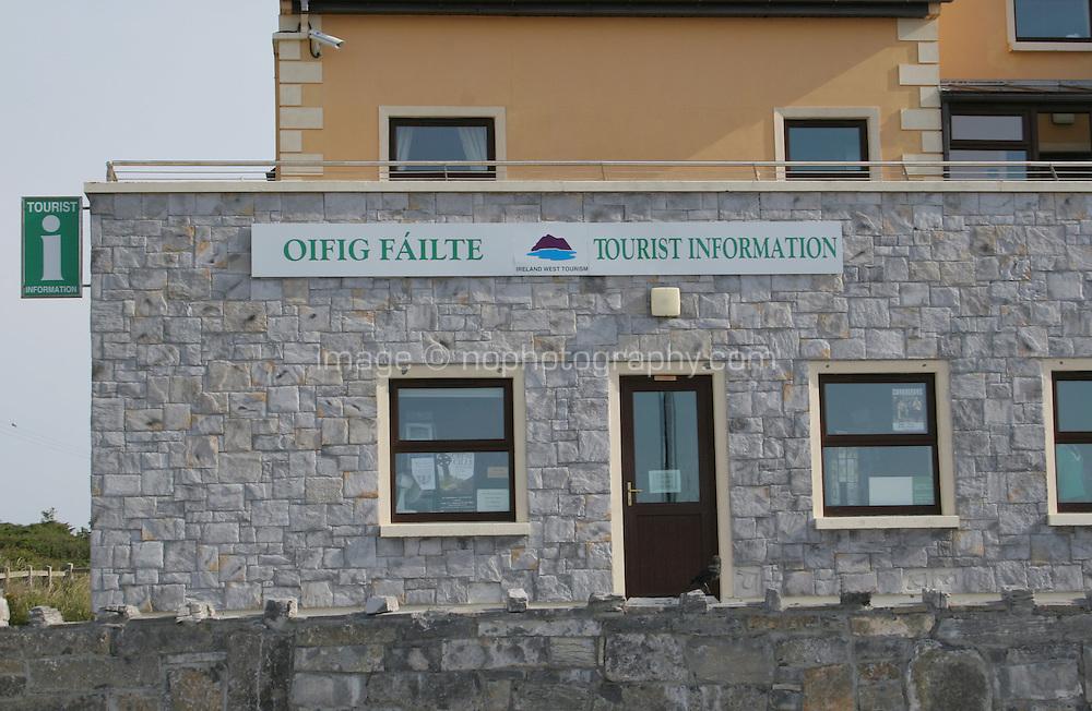Irish Tourist office at Kilronan Aran Islands County Galway Ireland