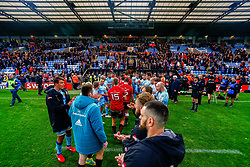 The Exeter Chiefs players form a tunnel for Munster Rugby - Mandatory by-line: Ryan Hiscott/JMP - 13/10/2018 - RUGBY - Sandy Park Stadium - Exeter, England - Exeter Chiefs v Munster Rugby - European Rugby Champions Cup