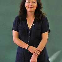 EDINBURGH, UK - 17th August 2010:  Portrait session writer Helen Simpson at the Edinburgh International Book Festival.  (Photograph: Callum Bennetts/MAVERICK)
