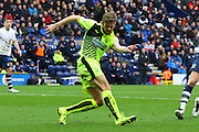 Huddersfield Defender Martin Crainie during the Sky Bet Championship match between Preston North End and Huddersfield Town at Deepdale, Preston, England on 6 February 2016. Photo by Pete Burns.