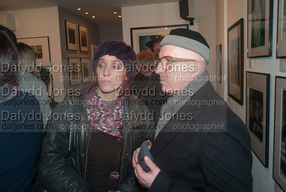 CRISTINA POLIZZI; STEPHEN MAHONEY, Ossie Clark: The King of The King's Road Reigns Again . Mixed exhibition of photographs of Ossie Clark inc pictures by Terry O Neill, Homer Sykes and Neil Libbert, Proud Chelsea, King's Rd. London. 20 February 2013.