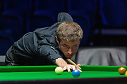 Action the opening frames of the Quarter Final match Jack Lisowski vs Thepchaiya Un-Nooh during the 19.com Home Nations Scottish Open at the Emirates Arena, Glasgow, Scotland on 13 December 2019.