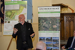 Pictured: Sir Tom Hunter<br /> Finance Secretary Derek Mackay headed to Winchburgh today to meet developers of new 3,450-home village. As well as the new homes, schools and other associated infrastructure will be built at Winchburgh. Derek Mackay met Sir Tom Hunter and Local MSP, Fiona Hyslop, the developers and West Lothian Council officials.<br /> <br /> Ger Harley | EEm 17 January 2019