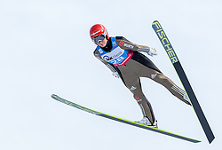30.01.2016, Normal Hill Indiviual, Oberstdorf, GER, FIS Weltcup Ski Sprung Ladis, Bewerb, im Bild Carina Vogt (GER) // Carina Vogt of Germany during her Competition Jump of FIS Ski Jumping World Cup Ladis at the Normal Hill Indiviual, Oberstdorf, Germany on 2016/01/30. EXPA Pictures © 2016, PhotoCredit: EXPA/ Peter Rinderer
