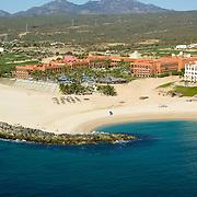 Cabo real aerial view. Los Cabos, Mexico.