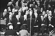 A commemoration of the first meeting of Dáil Eireann, which took place fifty years before this date, takes place in the Mansion House.  .21.01.1969
