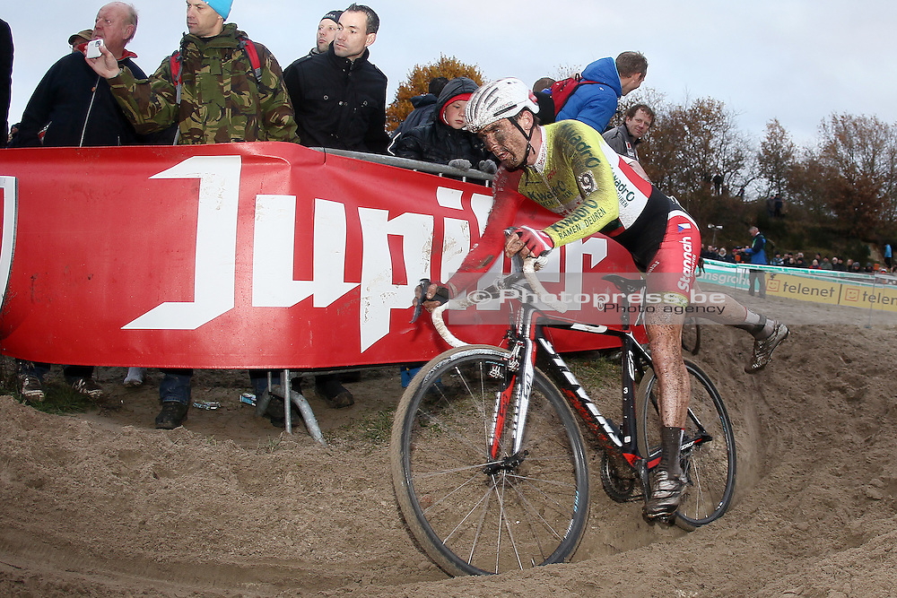 NETHERLANDS / NEDERLAND / PAYS BAS / GIETEN / CYCLING / WIELRENNEN / CYCLISME / CYCLOCROSS / VELDRIJDEN /  HANSGROHE SUPERPRESTIGE VELDRIJDEN / MARTIN BINA (KWADRO-STANNAH) /