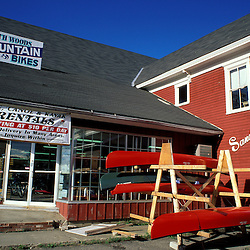 Greenville, ME. Northern Forest. Recreation. A canoe  kayak & mountain bike rental store.
