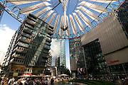 Sony Plaza,Potsdamer square,Berlin, Germany