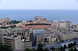 General view of various luxurious buildings in Monaco, on June 25, 2014. Police investigating the killing of Monaco heiress Helene Pastor last month have detained 23 people in France, including her daughter and son-in-law. Ms Pastor, from one of Monaco's richest families, was ambushed by a man armed with a shotgun as she left hospital in the French city of Nice in May. Her chauffeur also died of his wounds. Sylvia Pastor and her husband, Poland's honorary consul to Monaco Wojciech Janowski, were among those detained in Nice, Marseille and Rennes. Photo by Mike Bird/ABACAPRESS.COM  | 454291_044 Monaco Monaco