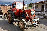 Tractor in Bahia Honda, Artemisa, Cuba.