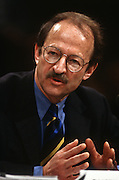 Dr. Harold Varmus, director, National Institutes of Health, testify in Congress March 12, 1997 on human cloning.