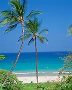 Hapuna Beach, Kohala Coast, Island of Hawaii, Hawaii, USA<br />