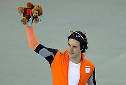 13-02-2006 SCHAATSEN: OLYMPISCHE WINTERSPELEN: 500 METER HEREN: TORINO<br /> 500 meter sprint man - Simon Kuipers<br /> ©2006-WWW.FOTOHOOGENDOORN.NL *** Local Caption ***