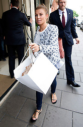 © Licensed to London News Pictures. 17/06/2015. <br /> LONDON, UK. COLLEEN ROONEY leaves Claridge's hotel in central London, Wednesday 17 June 2015. Photo credit : LNP