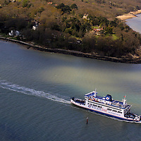 Wight Link Portsmouth Isle of Wight Ferry aerial Photographs of the Isle of Wight by photographer Patrick Eden photography photograph canvas canvases
