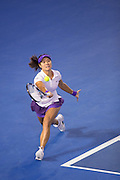 Na Li (CHN). Day 13. Womens Singles Final. Australian Open Grand Slam Tennis Championship. Melbourne Olympic Park, Melbourne, Victoria, Australia. 26/01/2013. Photo By Lucas Wroe