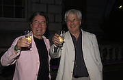 Edward Jones and  Jeremy Dixon. Film Four and Somerset House host a Reception and open air screening of Close Encounters of a third Kind. Somerset House, 16 August 2005. ONE TIME USE ONLY - DO NOT ARCHIVE  © Copyright Photograph by Dafydd Jones 66 Stockwell Park Rd. London SW9 0DA Tel 020 7733 0108 www.dafjones.com