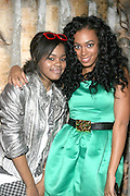 l to r: Teyana Taylor and Solange Knowles at Solange Knowles NYC Album release party held at Butter in New York City on September 5, 2008