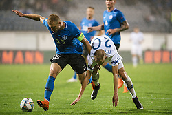 September 11, 2018 - Turku, Finland - Ragnar Klavan and Jasse Tuominen during the UEFA Nations League football match between Finland and Estonia at the Veritas Stadium in Turku, Finland on 11 September 2018. (Credit Image: © Antti Yrjonen/NurPhoto/ZUMA Press)