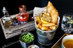 Food menu items in the Ashton Gate Stadium Sports Bar and Grill - Mandatory byline: Rogan Thomson/JMP - 14/03/2016 - Ashton Gate Stadium - Bristol, England.