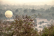 Hot Air Balloon in Siem Reap of Cambodia