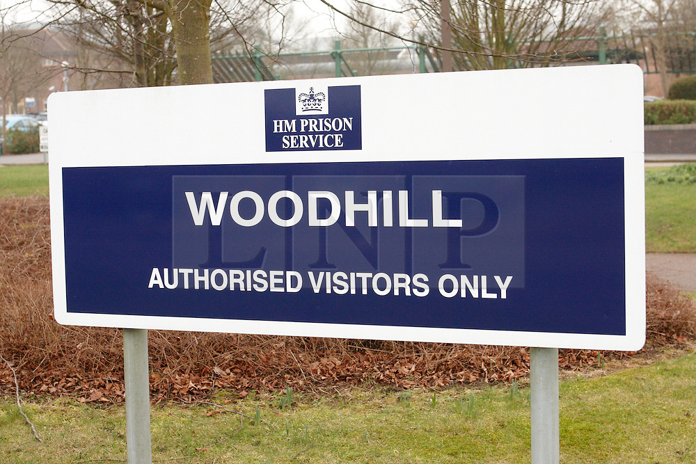 © Licensed to London News Pictures. 31/01/2011. MILTON KEYNES, UK. General view, taken today (Tue) of Woodhill Prison in Milton Keynes, Buckinghamshire, where Rimvydas Liorancas, 37, was found hanging in his cell on Saturday. Liorancas was charged with the murder of Avtar and Carole Kolar at their home in Birmingham. The Category A prison was opened July 1992.. In 1998 one wing was re-designated as a close supervision centre, which holds a small number of prisoners who are among the most difficult and disruptive in the prison system. Photo credit :  Cliff Hide/LNP
